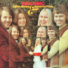 ABBA - RING RING 1973 (POLS 242, 180 gm. RE-ISSUE) POLYDOR/EU MINT